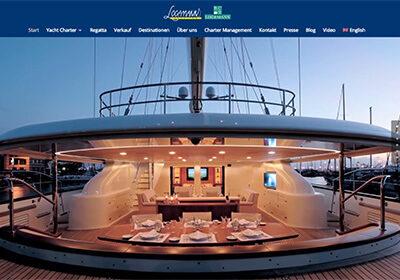 Logemann Yachting | Luxusyacht Charter