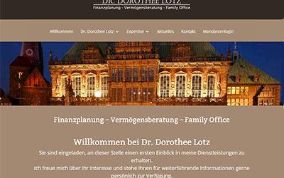 Dr. Dorothee Lotz – Finanzplanung