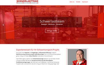 Schwerlastteam – Schwerlasttransporte