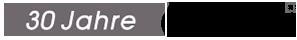 30 Jahre combit Logo